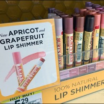 Burts Bees Point of Purchase 2