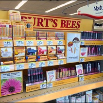 Burts Bees Point of Purchase Perspective