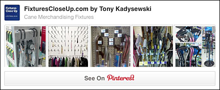 Cane Merchandising Fixtures Pinterest Board