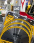 DeWalt Circular Big Blade Saw Strip Merchandiser