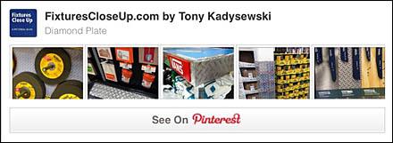 Diamond Plate FixturesCloseUp Pinterest Board