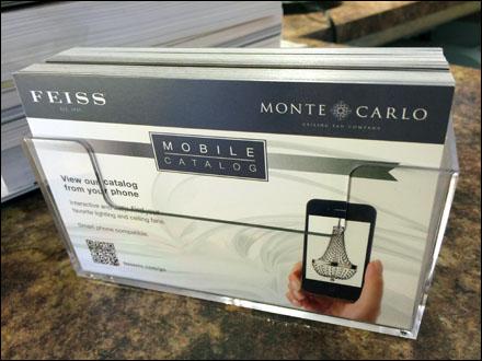 Feiss Monte Carlo Mobile Catalog QR Code Main