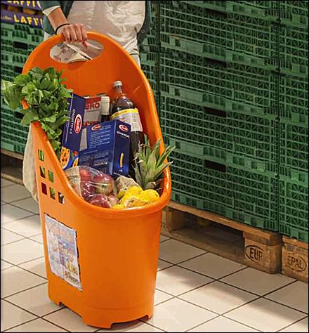 Flexicart Euro Shopping Trolley - Flexicart Grocery Clive Williamson Main