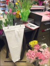 Floating Fitting for Flower Bags 1