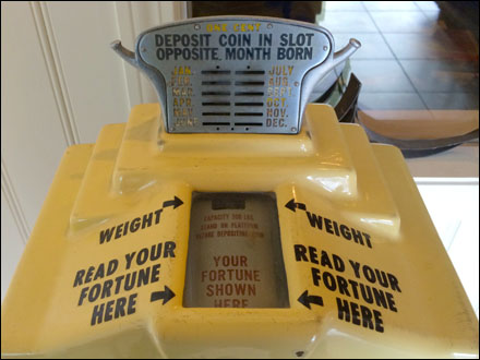 In-Store Fortune Telling and Weight Aux