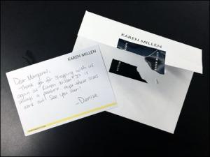 Karen Millen Handwritten Thank You Main