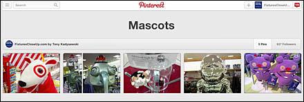 Mascots FixturesCloseUp Pinterest Board