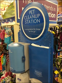 Pet Cleanup Station 1