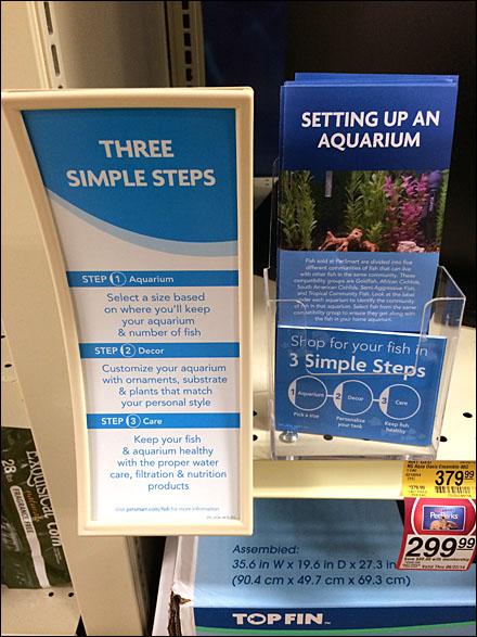 Petsmart Concave Shelf Edge Sign Main