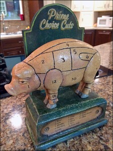 Prime Choice Cuts of Pork Map