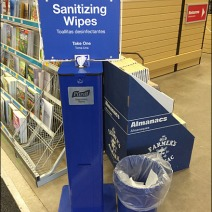 Purell Sanitizing Wipes Branded Station 1