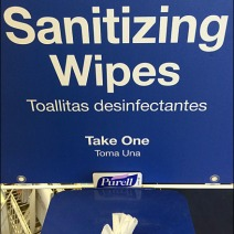 Purell Sanitizing Wipes Branded Station 3