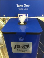 Purell Sanitizing Wipes Branded Station Main
