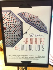 Raindrops and Darling Dots Umbrellas Main