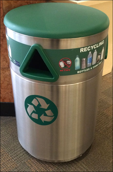 Recycling in Stainless Steel and Green