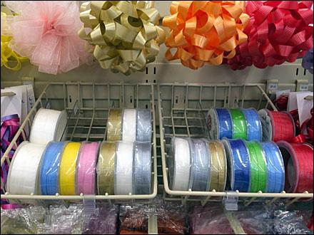 Ribbon Spool Gravity Feed Basket Main