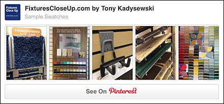 Sample Swatches Pinterest Board
