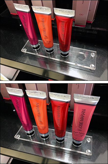 Sephora Hot New Tester Holder Detail