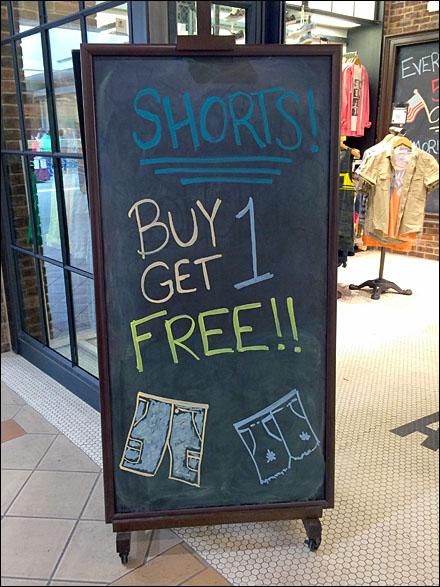 Summer Shorts BOGO Overall