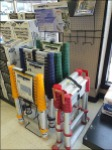 Telescoping Ladder Stepped Display Aux