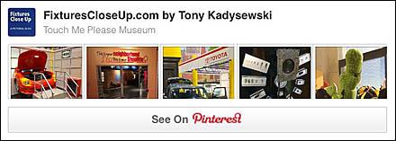 Touch Me Please Museum FixturesCloseUp Pinterest Board