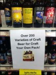Wegmans Craft Your Own Craft Beer Aux