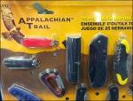 25pc Knife Strip Merchandiser Bulk Pack Aux