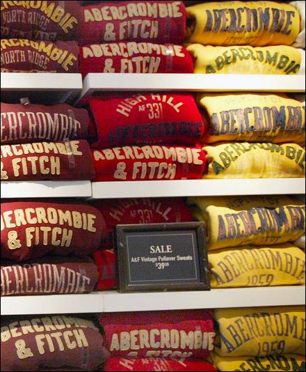 Abercrombie & Fitch Courtesy Mashable Main