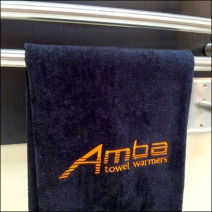 Amba Towel Warmers Branding Main