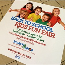 Back to School Kids Fun Fair Floor Graphic