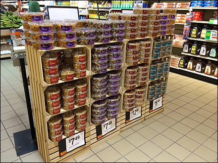 Crated Nut Display Overview