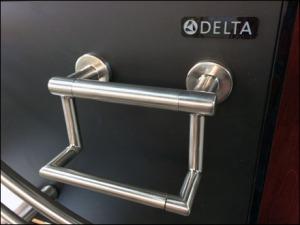Delta Branded Toilet Paper Holder 1