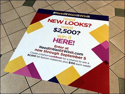 Fall Fashion Floor Graphic Main