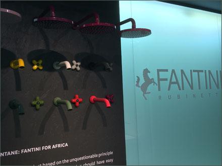 Fantini Blue Glass Store Entry Branding Aux