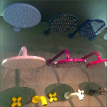 Fantini Shower Head Color Array Particle Main