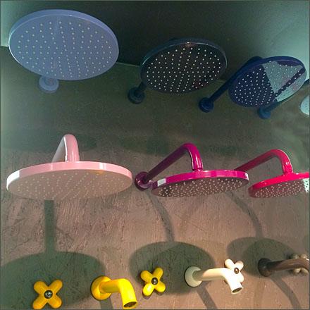 Fantini Shower Head Color Array Particle Main