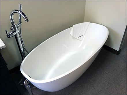 High Heel Bath Wear Fixtures Close Up Retail POP