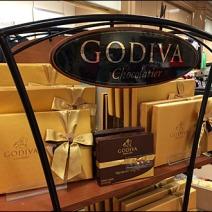 Godiva Chocolate Curves Masthead