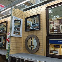 Gridded Mirror Display 3