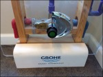 Grohe PVC Pipe and Faucet Detail