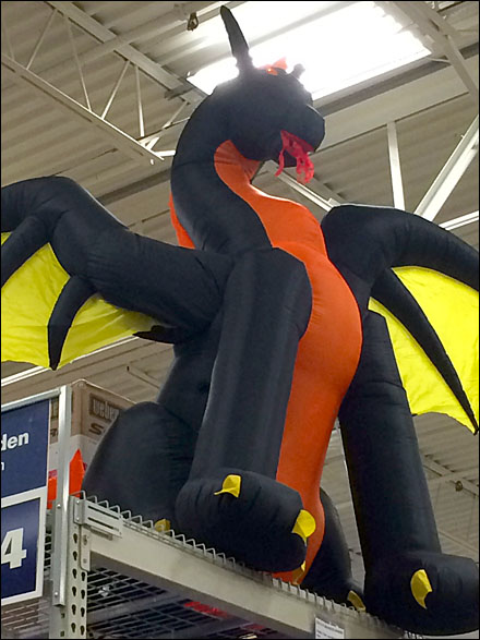 Halloween Inflkatable Dragon 3
