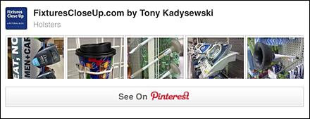 Holster Merchandising Fixtures Pinterest Board