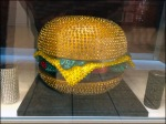 Rhinestone Hamburger Visual Merchandising