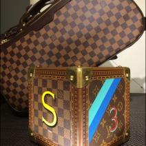Louis Vuitton Cubic Valise Aux