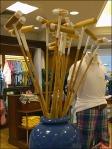 Polo Mallets Floral Arrangement