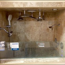 Showroom Shower Test Chamber