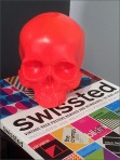 Skull and Swissted Rock Posters Detail