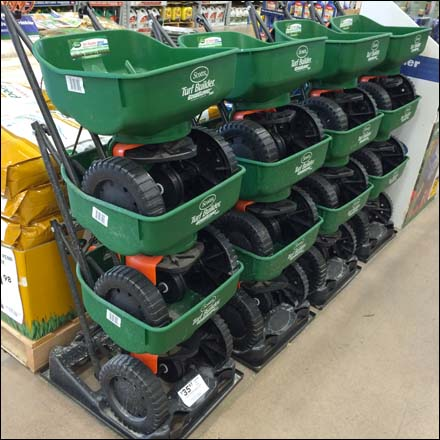 Stackable Lawn Spreader Overall
