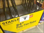 Stanley Fall Rakes by the Half Pallet Aux