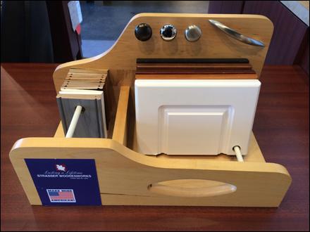 Stasser Woodenworks Swivel Sampler